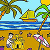 Palm beach coloring