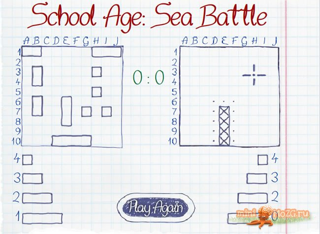 School Age: Sea Battle