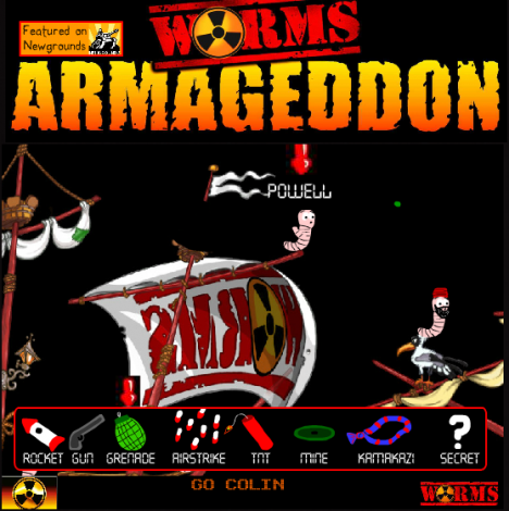 Worms Armageddon 2013