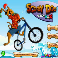 Scooby Doo. Beach BMX