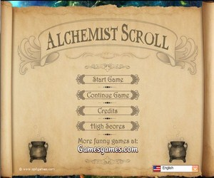 Alchemist Scroll