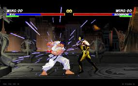 Mortal combat vs street fighter 3