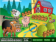 Farm Hidden Numbers Game