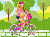 Barbie & Me Bike Game!