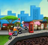 Doraemon Bike Racing
