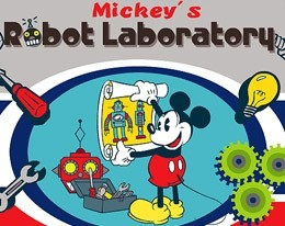 Mickey's Robot Laboratory