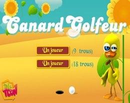 CANARD GOLFER