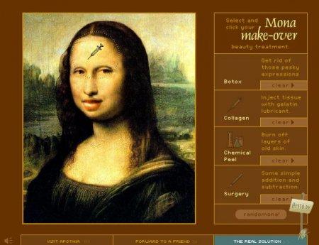 Spoil the Mona Lisa