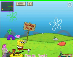 SpongeBob and Jellyfish