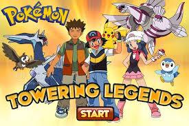 Pokemon. Towering legends