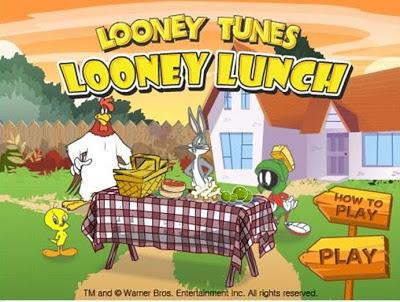 Looney tunes looney lunch