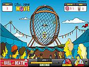SIMPSONS THE BALL OF DEAT...